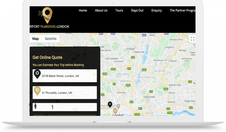 Airport transfers to London